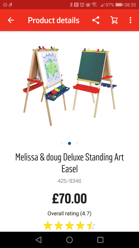 Melissa Doug Art Easel In Cumbernauld Glasgow Gumtree