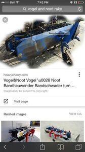 Wanted a Vogel and noot side delivery rake for parts