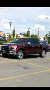 2015 Ford F150 lariat 502 fully loaded