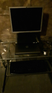 Dell laptop with docking station