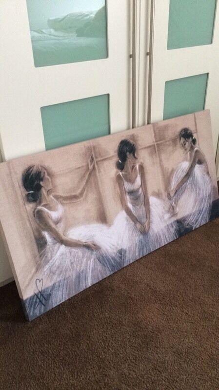 Ballet canvasin Irvine, North AyrshireGumtree - Ballet canvas. Quite large (pm for measurements) Would suit girls room.Bargain