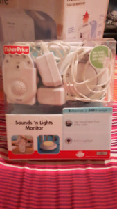 Fisher Price Sounds'n Lights Baby Monitor