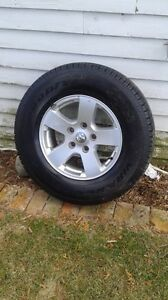 BRAND NEW Goodyear 17 inch tires and rims