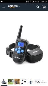 Dog training vibration and shock collar