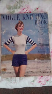 Vogue Knitting Book - Spring and Summer S/S 1950*Livre de tricot