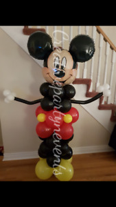 HELIUM BALLOONS, ARCHES, COLUMNS, MASCOTS ANY EVENT/PARTY