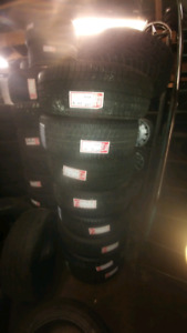 225/60R18 USED SET OF MICHELIN WINTERS 90 %