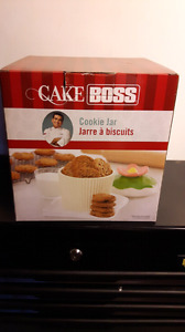 Cake Boss cookie jar