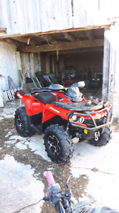 TRADE FOR SIDE BY SIDE !!! CAN AM OUTLANDER XT !! AND MORE!!!!