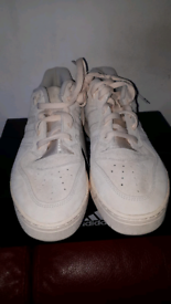 ADIDAS WHITE TRAINERS NEW WITH BOX