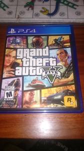 GTA 5  ps4 a vendre