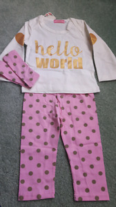 NWT 0-3 Months 3 Piece Outfit