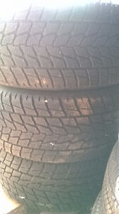 Three Like New Toyo Open Country 285 45 19 winter tires.