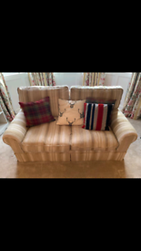 Laura ashley 2 seater fabric sofa - Great condition barely used