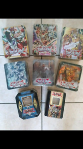 MASSIVE YUGIOH COLLECTION**OVER 3000 CARDS**PLUS 8 TINS