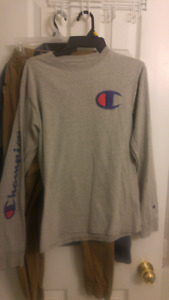 Gray Champion Long Sleeve