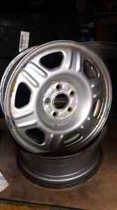 Set of 4 honda rims