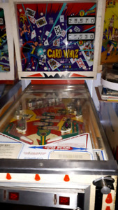 Card Wars pinball machine