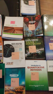 Various University Textbooks ( prices/names in pic/description)