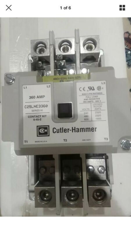 Cutler Hammer C25LNE3360C series A1 freedom Series 440-480 Volts Coil New