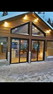 Fenêtres - aluminium et hybride - en trapèze - LAFLAMME