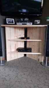 Spruce Wood T.V Stand