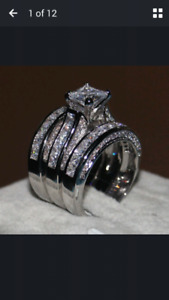 3 in 1 Engagement / Wedding ring