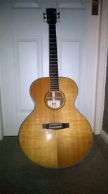 Immaculate cort acoustic guitar