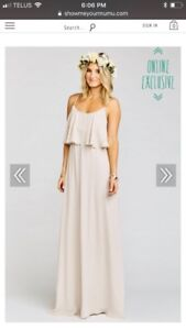 Show Me Your Mumu - Caitlin Ruffle Maxi in Show Me The Ring Cr