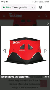 Eskimo Fatfish 949I Ice Hut - Brand New
