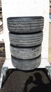 (4) 205/55-16 Michelin Destiny