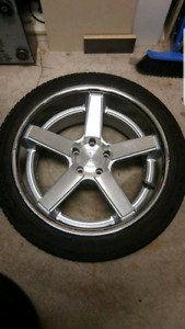 """20"""" niche rims and tires staggered"""