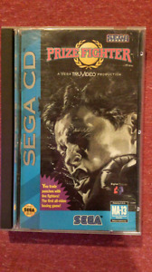 Prize fighter Sega CD
