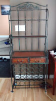Wrought iron bakers rack (WANT GONE ASAP)