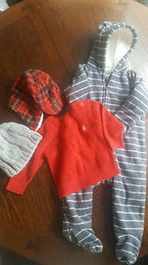 Boy's 6-12 month winter lot
