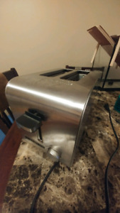 Stainless steel 2 slot Toaster