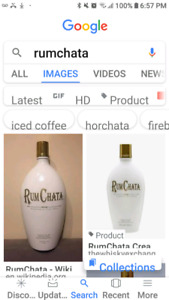 LOOKING FOR: Rum Chata Bottles
