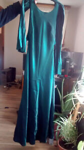 Emerald green Special occasion gown