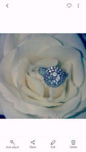 charm engagement ring (offers accepted!)
