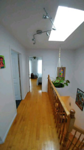 MUST SEE Condo style apt on 2 FLOORS 3 CLOSED Bdr and 1.5 bath