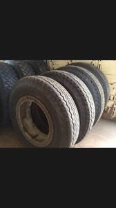 Wanted: Truck rims and tires 8.25x20 dayton