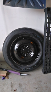 New T155 90D16 spare tire
