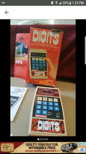 Vintage Digits Electronic Game