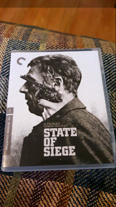 Criterion Collection State of Seige Blu Ray For Sale