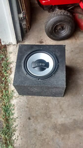 12 inch infinity subwoofer in box