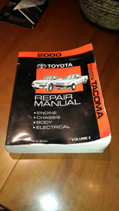 Toyota Tacoma (2000) repair manual
