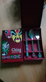 Chinese stainless steel cutlery set