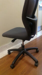 Office chair- swivel, adjustable height and reclining back