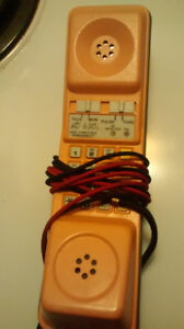 HD-630 BUTTSET,LINEPHONE MADE IN FRANCE 2-WAY HANDS FREE