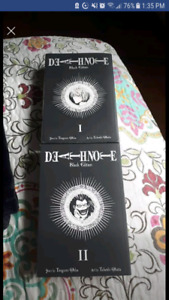 Deathnote black edition 1-4